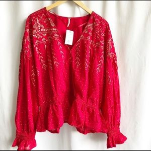 Free People counting stars blouse